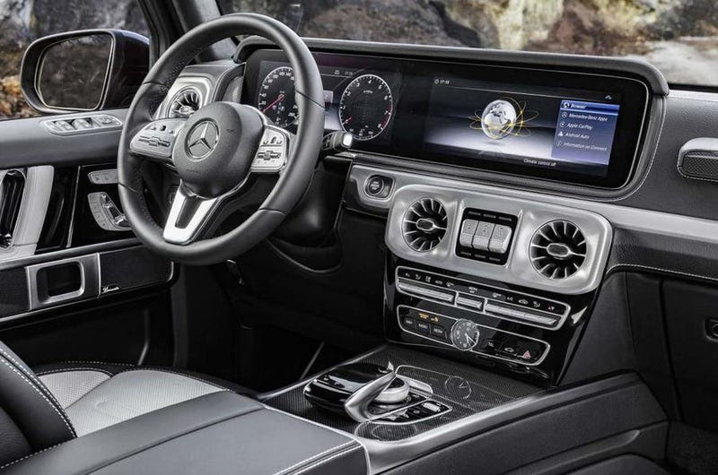 The all-new 2019 Mercedes-Benz G-Class G-Wagon SUV interior