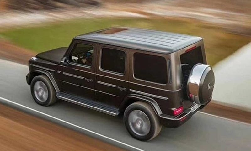 The all-new 2019 Mercedes-Benz G-Class G-Wagon SUV