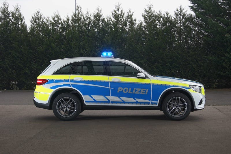Meet the new proposed luxury vehicles for European (German) Police